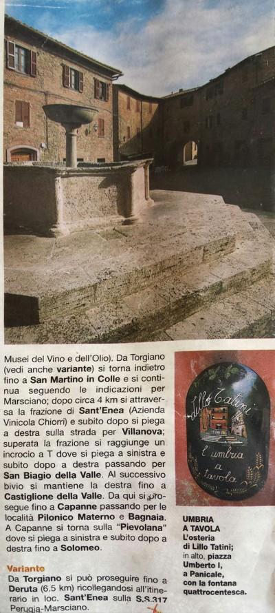 Umbria a Tavola